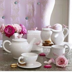 TEA & TESTIMONIES-DELIGHTFUL TEA & FLOWERS