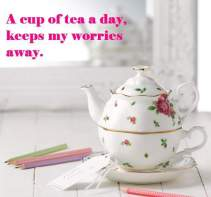 TEA & TESTIMONIES-DELIGHTFUL TEA & FLOWERS-ROYAL ALBERT UK
