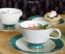 a NEW TEA & TESTIMONIES-LOVING GOD