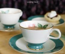 a NEW TEA & TESTIMONIES-LOVING GOD